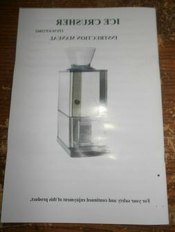 costway table top ice crusher #EP22862 in the box new