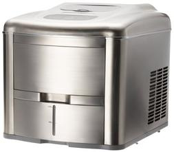 Lello TS-0612B Fully Automatic Compact Ice Maker, Stainless