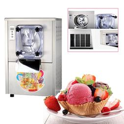 Commercial Hard Ice Cream Machine 20L/h Stainless Steel Ice
